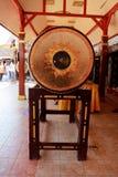 Tambours du nord thaïlandais dans le temple Chinagmai Thaïlande de Wat Doi Kum, photos libres de droits