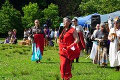 Tambours le long du Hudson 2015 41 photos libres de droits
