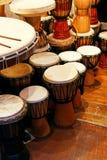 Tambours traditionnels Images libres de droits