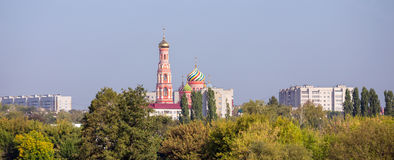 Tambov city. Cathedral of the Ascension. In Ascension Monastery Royalty Free Stock Image