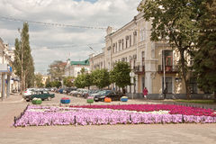 Tambov. Municipal landscape Stock Photos