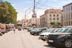 Tambov. Urban landscape Royalty Free Stock Images