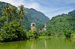 Tambun Tibetian Buddhist Temple, Perak Stock Photo