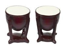 Tamburi del bongo Fotografia Stock