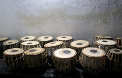 Tamburi di bongo Immagine Stock Libera da Diritti