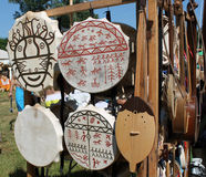 Tamburi di Shamanic Fotografia Stock Libera da Diritti