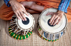 Tamburi di Tabla Fotografia Stock