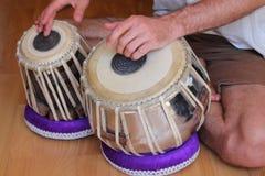 Tamburi di Tabla Fotografia Stock Libera da Diritti