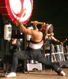 Tamburi giapponesi Fotografie Stock Libere da Diritti