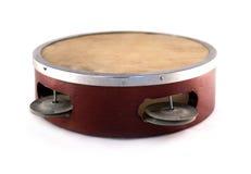 tamburin Royaltyfri Bild