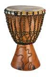 Tamburo africano di Djembe Fotografia Stock