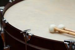 Tamburo dell'orchestra fotografie stock libere da diritti