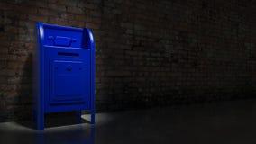 Tamburo della cassetta delle lettere Fotografie Stock