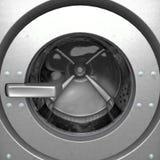 Tamburo della lavatrice Fotografia Stock