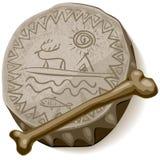 Tamburo dello sciamano royalty illustrazione gratis