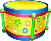 Tamburo, giocattolo Immagini Stock Libere da Diritti
