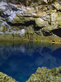 Tamchach-Ha Underground Cenote in Mexico Stock Photography
