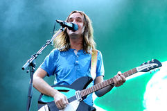 Tame Impala (band), performs at Heineken Primavera Sound 2013 Festival Royalty Free Stock Photography