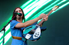 Tame Impala band, performs at Heineken Primavera Sound 2013 Festival Stock Images