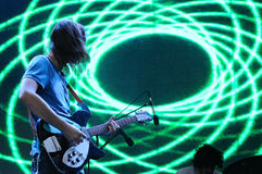 Tame Impala band, performs at Heineken Primavera Sound 2013 Festival Royalty Free Stock Image