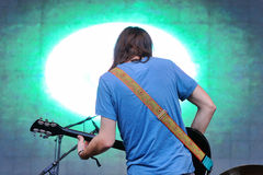 Tame Impala, psychedelic band, performance at Heineken Primavera Sound 2013 Festival Royalty Free Stock Images