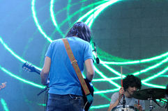 Tame Impala, psychedelic rock band project of Kevin Parker Stock Photography