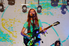 Tame Impala (psychedelic rock  band, project of Kevin Parker) at FIB Festival Royalty Free Stock Photos