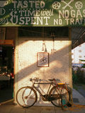 Tameda coffee shop Fotografering för Bildbyråer