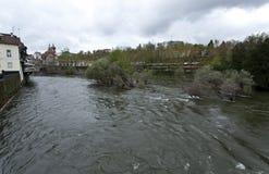 Tamega River in Amarante Stock Photos
