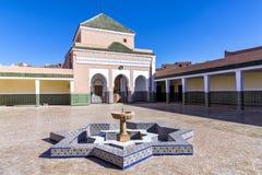 The shrine Zawiya Nasiriyya in Tamegroute, Morocco Stock Photos