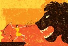 Tamer льва Стоковые Фото