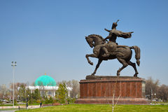 Tamerlane Monument in Tashkent Royalty Free Stock Images