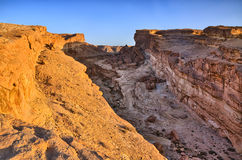 Tamerza canyon, Star Wars, Sahara desert, Tunisia, Africa Royalty Free Stock Image