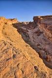 Tamerza canyon, Star Wars, Sahara desert, Tunisia, Africa Stock Photo