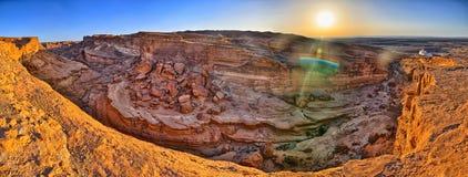 Tamerza canyon, Star Wars, Sahara desert, Tunisia, Africa Royalty Free Stock Photography