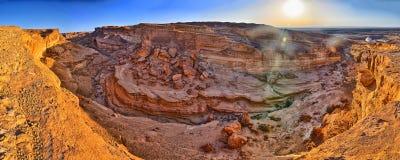 Tamerza canyon, Star Wars, Sahara desert, Tunisia, Africa Royalty Free Stock Images