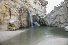 Tamerza fall. Photo Tamerza fall near Tozeur Royalty Free Stock Image