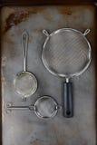 Tamices de la cocina Imagen de archivo