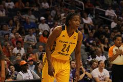 Tamika Catchings royalty free stock photo