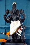 Tamil culture god Statue. Indian temple closeup shot on tamil culture god Statue Royalty Free Stock Photography