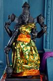 Tamil culture god Statue. Indian temple closeup shot on tamil culture god Statue Stock Image
