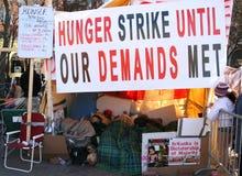 tamil di sciopero della fame Fotografia Stock Libera da Diritti