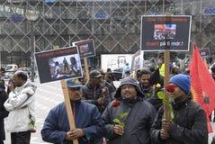 Tamil eelam protest against sri lanka Royalty Free Stock Photography
