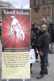 Tamil eelam protest against sri lanka Royalty Free Stock Image