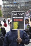 Tamil eelam protest against sri lanka Stock Photos