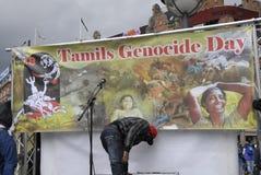 Tamil eelam protest against sri lanka Royalty Free Stock Photos