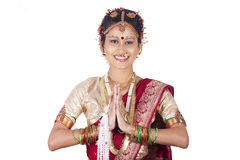 Tamil girl Royalty Free Stock Images