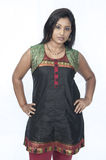 Tamil girl Stock Photography