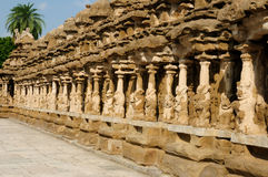 Tamil Nadu, India - Kailasanathar Temple Royalty Free Stock Photo