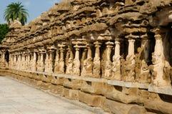 Tamil Nadu, India - Kailasanathar Temple Royalty Free Stock Photo